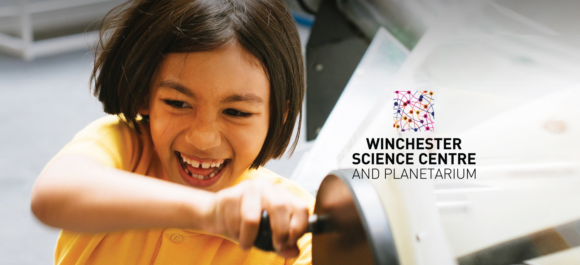 Branding for Winchester Science Centre