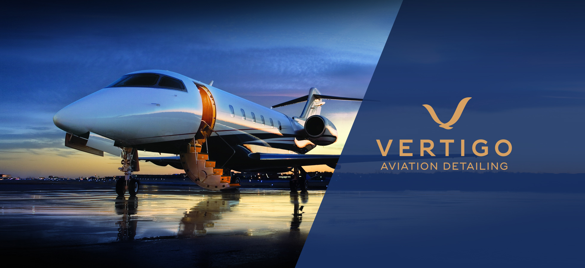 Branding for Vertigo Aviation Detailing Southampton