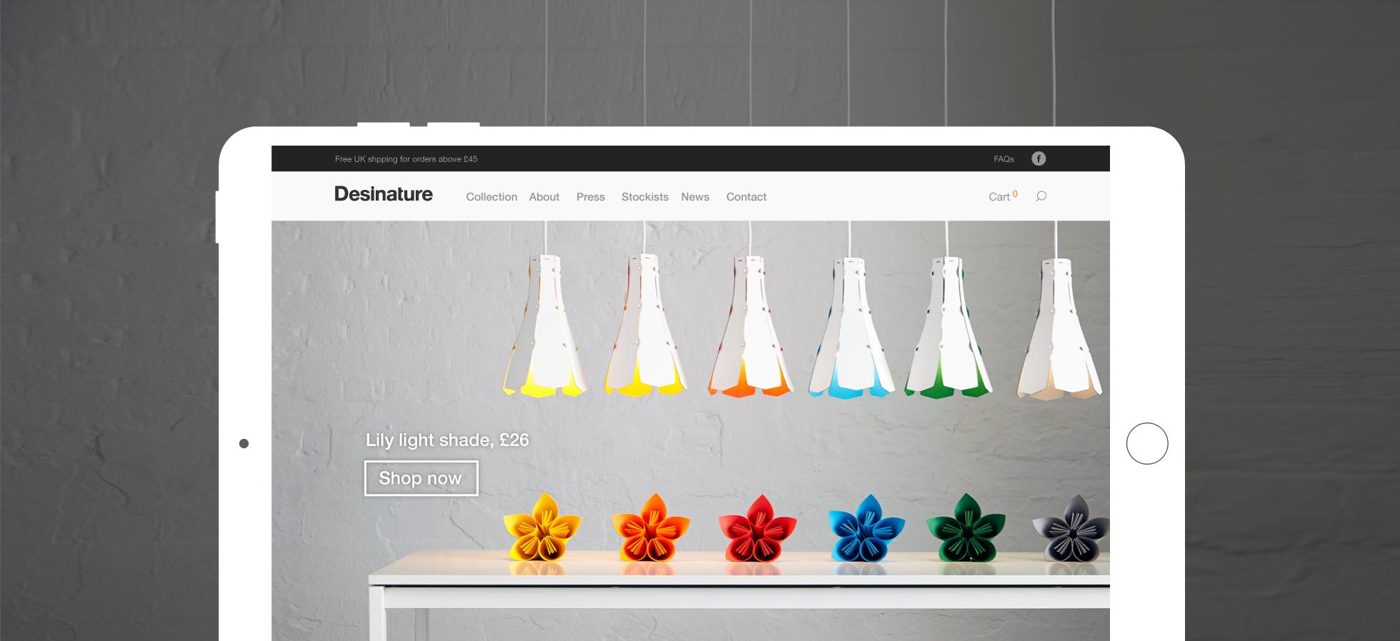 Branding for New Design Brand Desinature