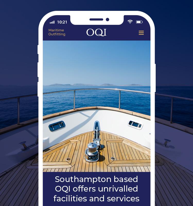 Logo & Website Design for OQI Southampton